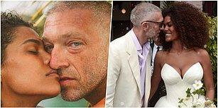 Monica Bellucci'nin Ardından... Vincent Cassel Kendisinden 30 Yaş Küçük Model Tina Kunakey ile Evlendi!