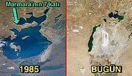 Bu Felaketi Biz Yarattık: 50 Yıl Önce Bereketiyle Göz Kamaştıran Ama Yanlış Uygulamalarla Çöle Dönüşen Aral Gölü