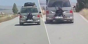 13 Yaşındaki Çocuğunu Minibüsün Arkasına Bağlayarak Serbest Kalan Baba: 'Hoşuna Gidiyor'