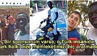 Cami Cemaatinin Aldığı Bisikletle Türkiye Turuna Çıkan ve Türklerin Siyahilere Yaklaşımlarını Esprili Diliyle Paylaşan Senegalli Musti