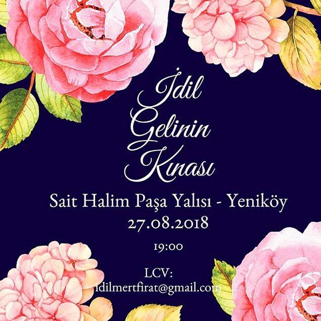 İşte dün akşam Sait Halim Paşa Yalısı'nda düzenlenen 'İdil Gelinin Kınası'na dair her şey!