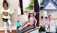 Daha 4 Yaşında ve Hayallerinizdeki Hayatı Yaşıyor! Çocuk Modasının Nabzını Tutan Gezgin Millie-Belle Diamond