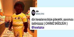 Fenerbahçe'nin Yeni Transferi Yatınca Yüzünde Boyayla Kalakalan Minik Taraftar