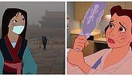 Dünyamızın Problemlerini Disney Dünyası İçinde Yansıtan Sanatçının Yaptığı Birbirinden Şaşırtıcı İllüstrasyonlar