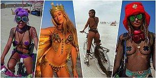 Yılın En Çılgın Festivali Başladı! Burning Man'e Tarzlarıyla Damga Vuran 28 Sıra Dışı Kadın