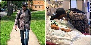 Hasta Eşinin Yanında Olmak İçin 99 Yaşında Yağmur Çamur Demeden Kilometrelerce Yol Tepen Güzel Kalpli Adam