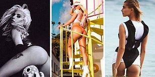 Son Dönemin Trendi Olarak Instagram'da Yaptıkları Popo Paylaşımlarıyla Herkesin Dikkatini Çeken Ünlüler