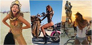 Bakalım Bu Seneki Festival Tarzını Beğenecek misiniz? Günlerdir Paylaşım Yapmayan Şeyma Subaşı Burning Man'den Döndü!