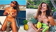 Sosyal Medyayı Kasıp Kavuran Yeni Bir Trend Daha: Ananas Memeler!