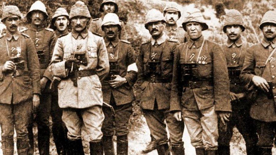 Albay Mustafa Kemal'in Çanakkale'deki İstifa Dilekçesini Liman von ...