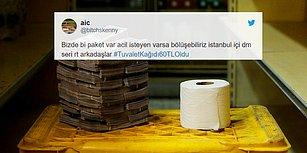 Kağıt Krizi Gittikçe Büyüyor: Fiyatlardaki Artışa #TuvaletKağıdı60TLOldu Etiketiyle Tepki Gösteren 17 Kişi