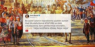 İzmir'in Dağlarında Çiçekler Açtı! Kurtuluşun 96. Yıldönümünde Sosyal Medyada 9 Eylül Coşkusu