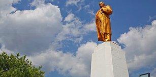 İmamlar Camilerde Yardım Topladı: Devrilen Lenin Heykeli Restore Edildi