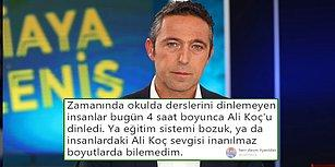 Ali Koç'tan Medya Ayarı! FB TV'de Açıklamalar Yapan Koç Sosyal Medyanın Gündeminde