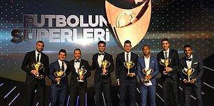 2017/18 Süper Lig Sezonu'nun 'Süper'leri Ödüllerini Aldı