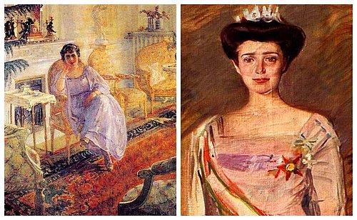 Atatürkten Papaya Pek çok ünlüyü Resmetti Türkiyenin Ilk Kadın