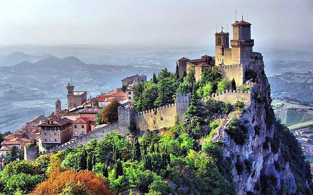 8. San Marino'da hangi dil konuşulmaktadır?