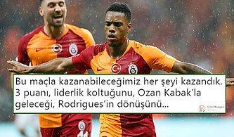 Cimbom'da 'Rodrigues' Liderliği Aldı! Galatasaray - Kasımpaşa Maçının Ardından Yaşananlar ve Tepkiler