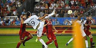Zlatan Şov! Zlatan Ibrahimović Kariyerinin 500. Golünü Tarzına Yakışır Bir Şekilde Attı!
