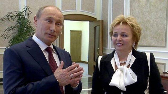 Lyudmila ve Putin iddiaya göre 1980'lerin başında tanıştılar.