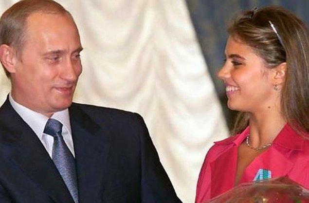 Putin'in ise yıllardır 35 yaşındaki Özbek asıllı eski jimnastikçi ve milletvekili Alina Kabaeva ile ilişkisi olduğu iddia edilmekte.