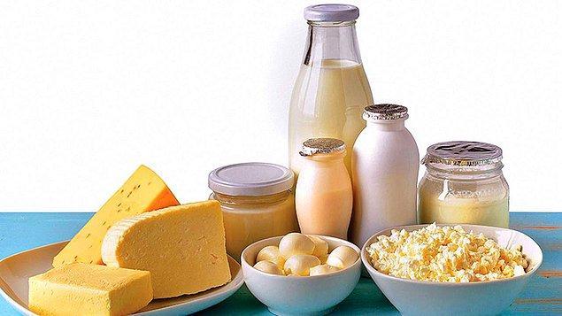 Süt ürünlerini bol tüketmeli. Ancak sadece ekşiyen, kesilen ve kaymak bağlayan süt ve süt ürünleri alınmasını tavsiye ediyor.