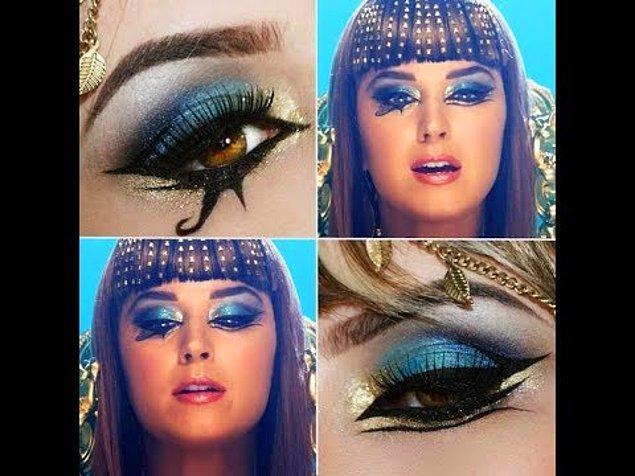4. Kleopatra'nın ünlü makyajı bir tür korumaydı.