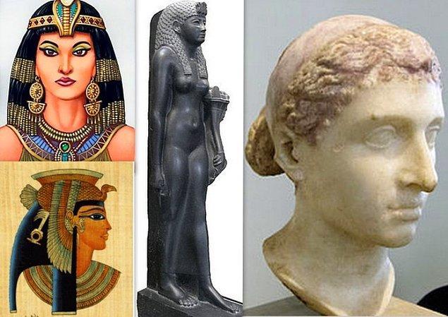 10. Jül Sezar Kleopatra'nın heykelini Venüs Tapınağı'na dikti.