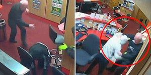 Bahis Dükkanını Soymaya Çalışan 3 Hırsızı Perişan Eden 83 Yaşındaki Kahraman Adam