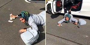 'Falling Stars' Akımı İçin Fotoğraf Çektirmeye Çalışan Kadının Feryadı: 'Nigar, Paramı Getir Nigar'