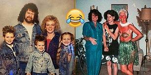 Eski Fotoğraf Albümlerinin Kuytu Köşesinden Çıkarılmış 16 Komedi Aile Fotoğrafı