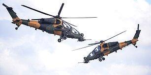 TEKNOFEST'te Dikkat Çeken Gösteri: İki Atak Helikopterinden Havada 'Harmandalı'