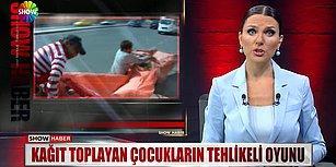 Show Tv Haber Spikerinden Gözlerden Yaş Getiren 'Angara'lı Haber Sunumu