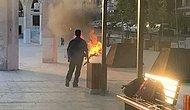 'İşsizim ve Açım' Dedi: Şanlıurfa'da Bir Genç Üzerine Benzin Döküp Ateşe Verdi