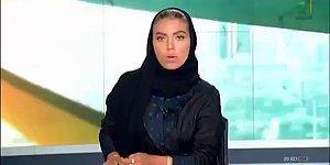 Suudi Arabistan'ın Resmi Televizyon Kanalında Ana Haberi İlk Defa Bir Kadın Sundu!