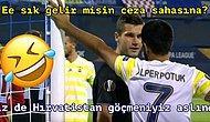Alper Potuk ve Dinamo Zagrebli Futbolcu Arasındaki Anlık Konuşmayı Mizahıyla Yorumlayan 15 Kişi