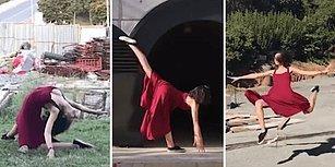 İTÜ'lü Öğrencilerden Bitmek Bilmeyen İnşaatlara Danslı Protesto