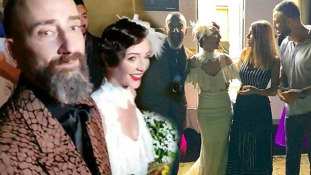 6. Bu yaz çok evlilik yaptı, çok! Yunus Günçe ile Işık Selin Kuyumcu evlendi!