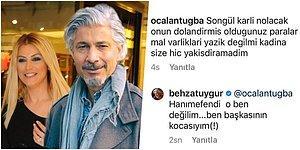 Ben Başkasının Kocasıyım! Songül Karlı'nın Ayrıldığı Eşini Behzat Uygur'a Benzeten Takipçi Ortalığı Karıştırdı!