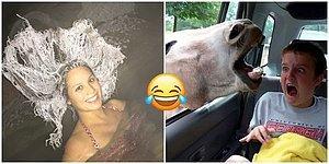 Güzel Bir Fotoğraf Çekilmek İsterken Yanlışlıkla Çile Çeken 20 Kişiyi Görünce Gülme Krizine Gireceksiniz!