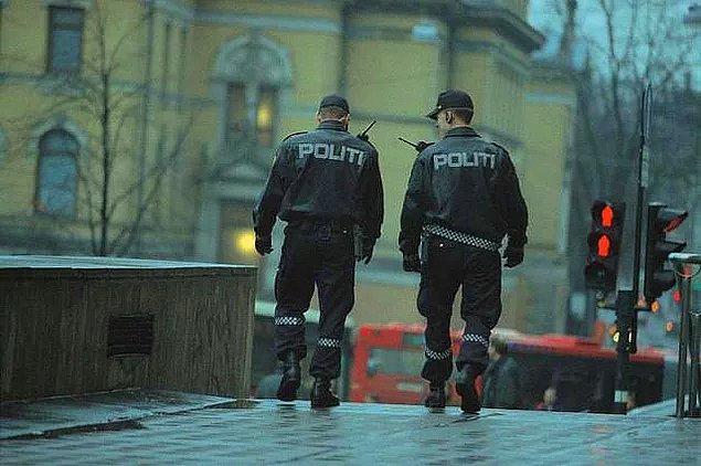 İkinci Dünya Savaşı'ndan bu yana Norveç'te öldürülen polis sayısı sadece 10 (on)'dur.