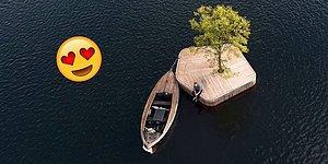 Kopenhag Limanı'nda Halka Açık Etkinlikler İçin Kullanılması Amaçlanan Yapay Adalar