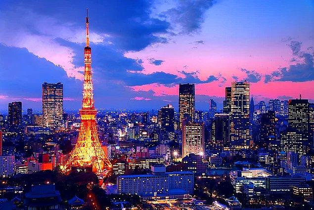 """12. yüzyılda Edo adı ile kurulan Tokyo, """"Doğu başkenti"""" anlamına geliyor."""