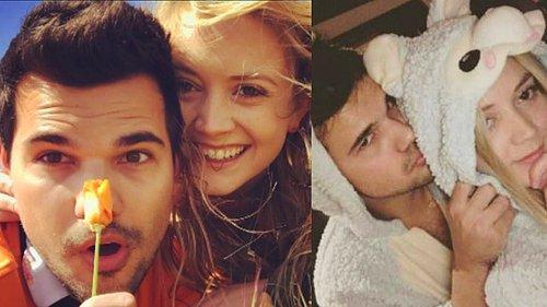 Alacakaranlık Serisinin Kurt Adamı Taylor Lautnerın Gelmiş Geçmiş Tüm Güzellerin İçinde Bulunduğu Aşk Listesi 1