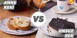 Komşularınız Tarif Almak İçin Kapınızda Kuyruğa Girecek! Anne Keki vs Unsuz Kek Nasıl Yapılır?