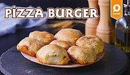 Ayrı Ayrı Sevdiğiniz Enfes Lezzetleri Tek Bir Tarifte Topladık! Benzersiz Pizza Burger Tarifi👇