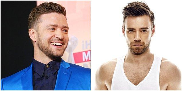 Justin Timberlake ise tam bir Murat Dalkılıç...