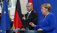 Basın Toplantısında Can Dündar ve FETÖ Tartışmaları: İşte Erdoğan-Merkel Görüşmesinde Öne Çıkanlar