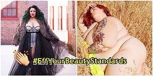 Başlattığı Sosyal Medya Hareketiyle Toplumun Kadınlara Dayattığı Güzellik Algısını Yıkmak İsteyen Model