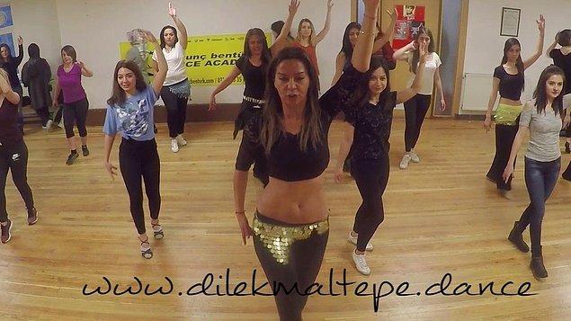 Mezdeke üyelerinden Dilek Maltepe, dans eğitmenliği yapmaya devam ediyor.